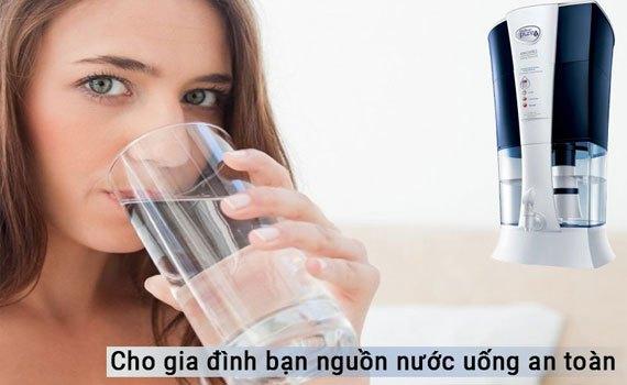Máy lọc nước Unilever Pureit Excella 9L tạo ra nguồn nước chứa khoáng chất có lợi