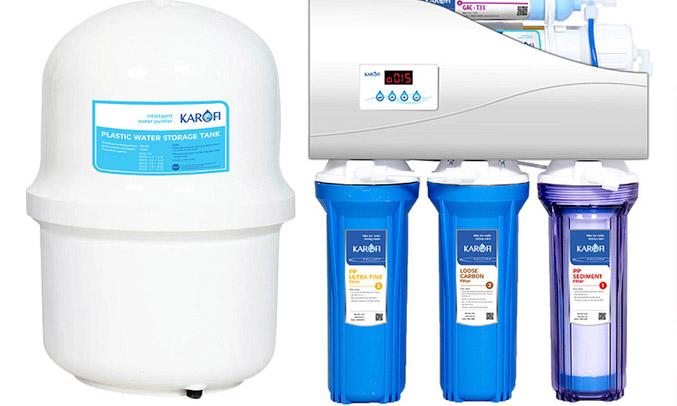 Máy lọc nước thông minh Karofi K7IQ-2.0 đảm bảo sức khoẻ