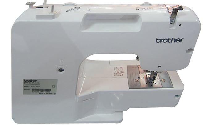 Máy may Brother GS2500 không gây ồn