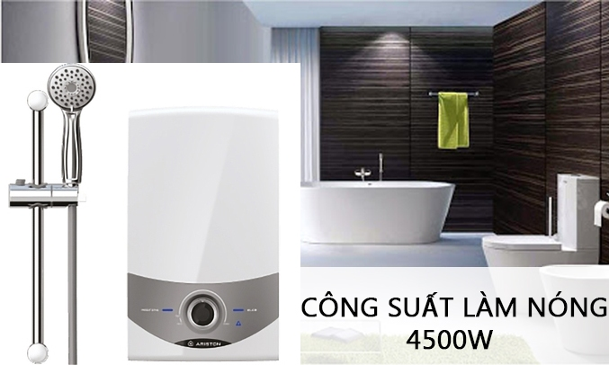 Máy nước nóng Ariston SM45E-VN công suất 4500W