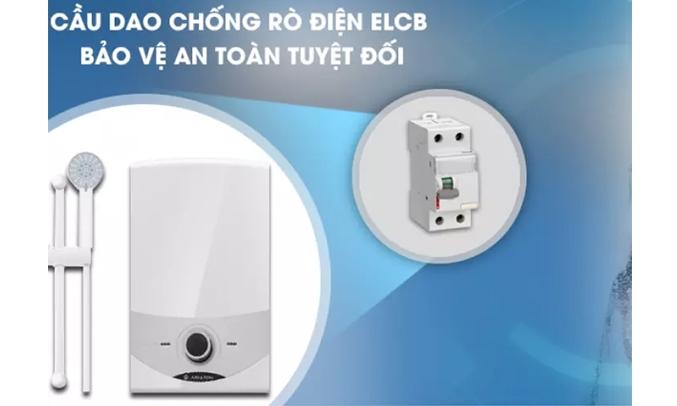 Máy nước nóng Ariston SM45E-VN Chống rò rỉ điện ELCB
