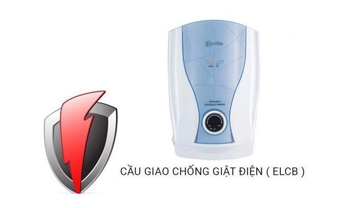 Máy nước nóng Centon CP007E EMC chống giật ELCB