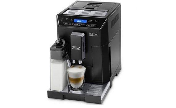 Máy làm cà phê Delonghi ECAM44.660.B kiểu dáng sang trọng, hiện đại