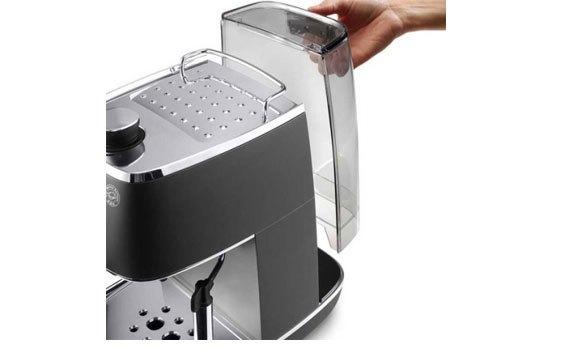 Máy pha cà phê Delonghi ECI341.BK thao tác thật đơn giản