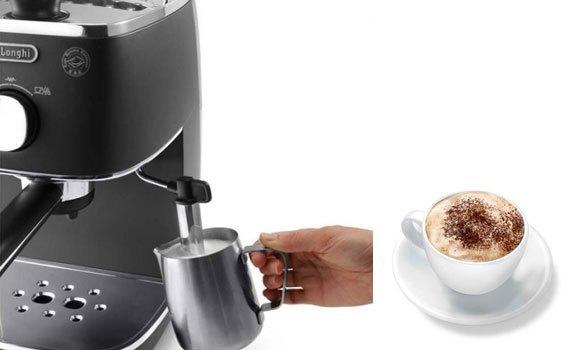 Máy pha cà phê Delonghi ECI341.BK có hệ thống tự động tắt thông minh