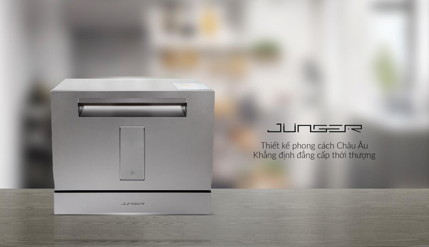 Máy rửa chén Junger DWJ-101 - Thiết kế phong châu Âu, khẳng định đẳng cắp thời thượng