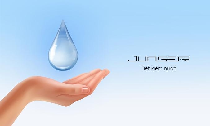 Máy rửa chén Junger DWJ-101 Tiết kiệm nước