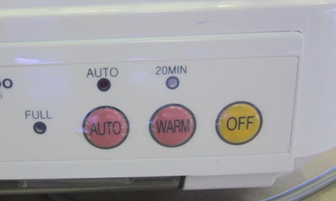 Máy sấy chén Cuckoo CDD-9045 có nút điều khiển