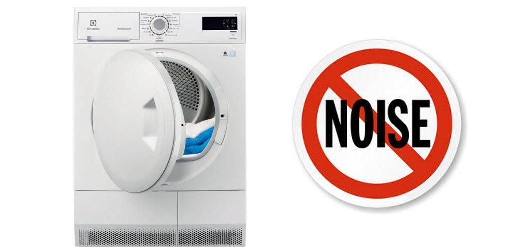 Máy sấy quần áo Electrolux 8 kg EDC2086PDW vận hành êm ái, hạn chế tiếng ồn