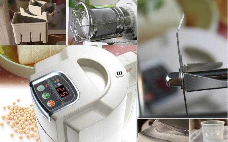 Với khả năng tự động làm sạch cùng chất liệu cao cấp, việc vệ sinh máy xay đậu nành trở nên dễ dàng hơn bao giờ hết