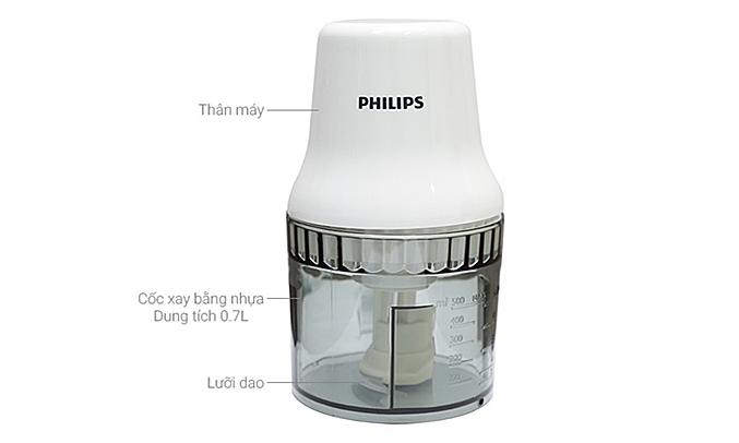 Máy xay thịt Philips HR1393 sử dụng dễ dàng