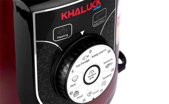 Nồi áp suất điện Khaluck.Home KL-788S 6 lít đa dạng chức năng nấu cho bạn thỏa thích nấu nướng
