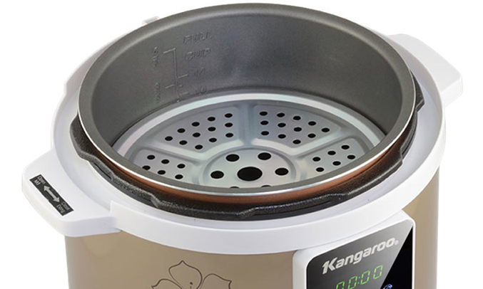 Nồi áp suất Kangaroo KG-139 an toàn cho sức khoẻ