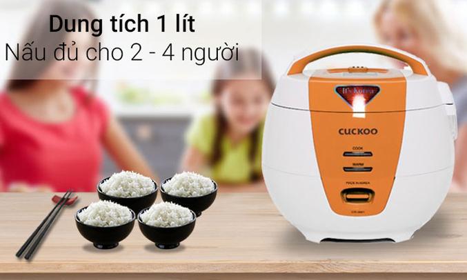 Nồi cơm điện Cuckoo CR-0061 1 lít