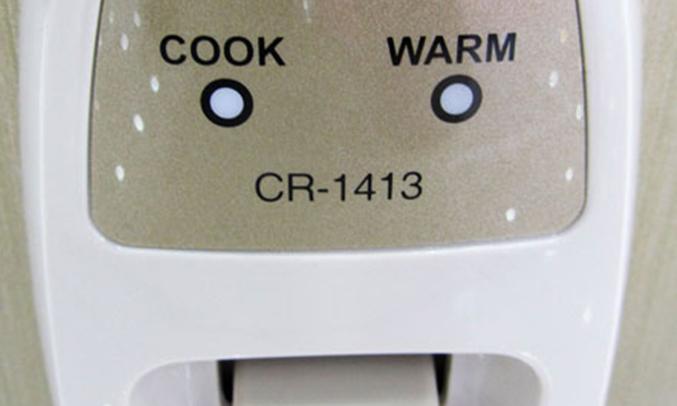 Nồi cơm điện CuckooCR-1413 2.5 lít dễ sử dụng