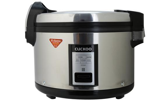 Nồi cơm điện Cuckoo CR-3521S 6.3 lít giúp bạn nấu cơm tiện lợi và tiết kiệm điện