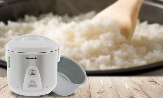 Nồi cơm điện Panasonic SR-MEV18LRA nấu cơm chính nhanh