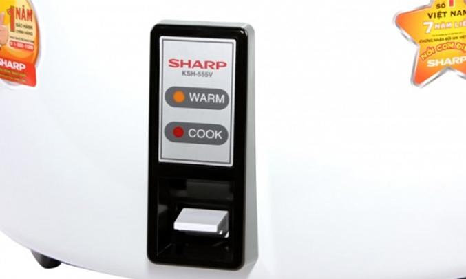 Nồi cơm điện Sharp KSH-555V 5 lít