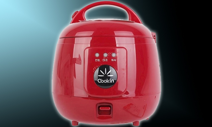 Nồi cơm điện Cookin RM-NA10 1 lít sang trọng, tinh tế