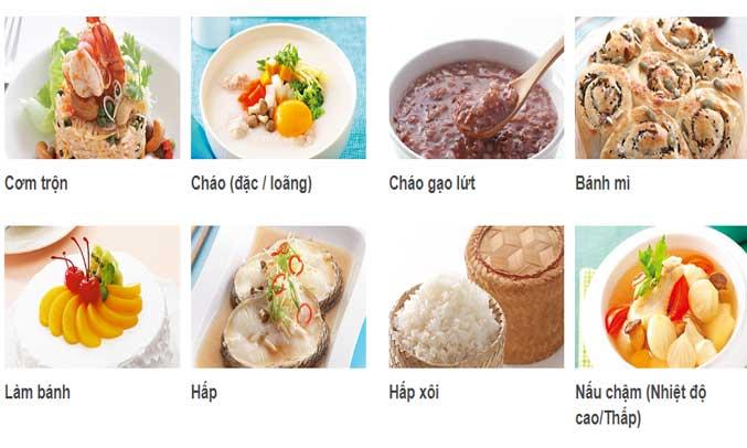 Nồi cơm điện HitachiRZ-D18VFY(OBK) thích hợp với nhiều loại gạo, ngũ cốc