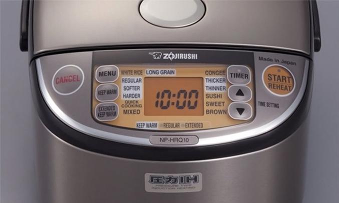 Nồi cơm điện Zojirushi NP-HRQ10 màn hìn LCD