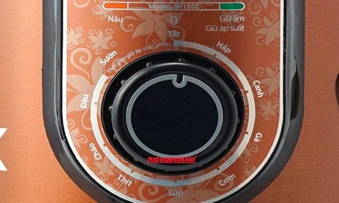 Nồi áp suất điện Sunhouse SH1550 an toàn tiết kiệm