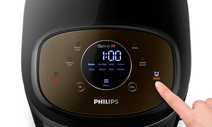 Nồi cơm điện cao tần Philips 1.5 Lít HD4528/66