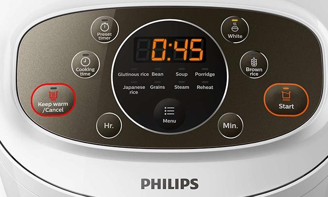 Nồi cơm điện Philips 1.8 Lít HD4533/66