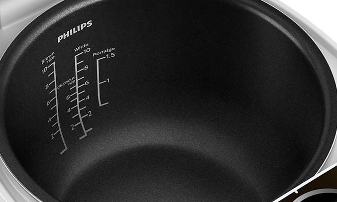 Nồi cơm điện Philips 1.8 Lít HD4515/68