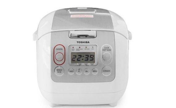 Nồi cơm điện Toshiba RC-18NMFVN(WT) giá tốt tại nguyenkim.com