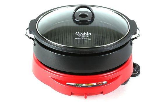 Nồi lẩu điện Cookin KEP-105 sử dụng đa năng giá tốt tại nguyenkim.com