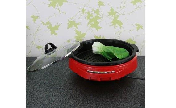 Nồi lẩu điện Cookin KEP-105 dễ dàng sử dụng