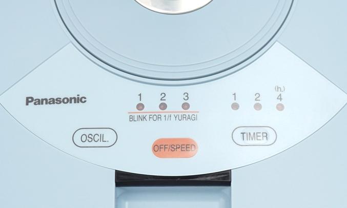 Quạt đứng Panasonic F-308NH tiện lợi