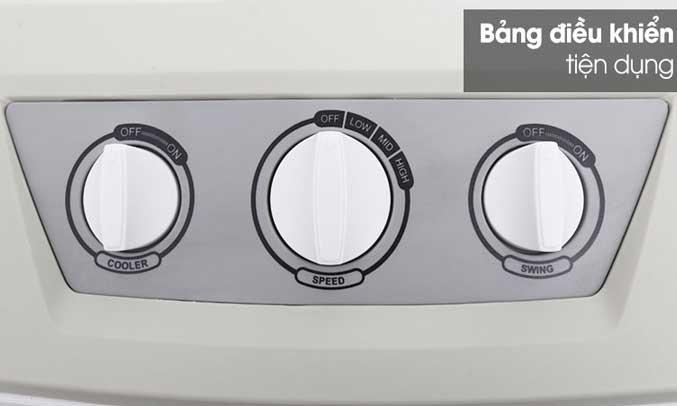 Quạt làm mát không khí Kangaroo KG50F30 có bảng điều khiển tiện dụng