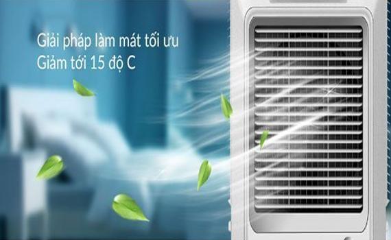 Quạt điều hòa Sunhouse SHD7774 giảm nhiệt độ phòng xuống 15 độ C