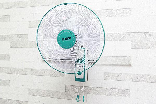 Chức năng đảo gió giúp không khí mát lan tỏa khắp phòng