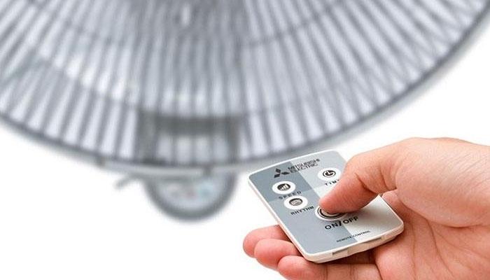 Điều khiển quạt nhanh chóng và thoải mái hơn với remote