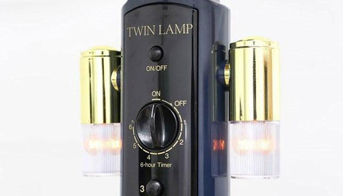 Đèn led giúp bạn dễ dàng quan sát quạt trong bóng tối