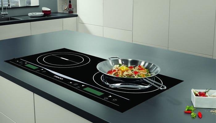 Bếp điện từ thích hợp sử dụng với nồi chảo bằng sắt, inox