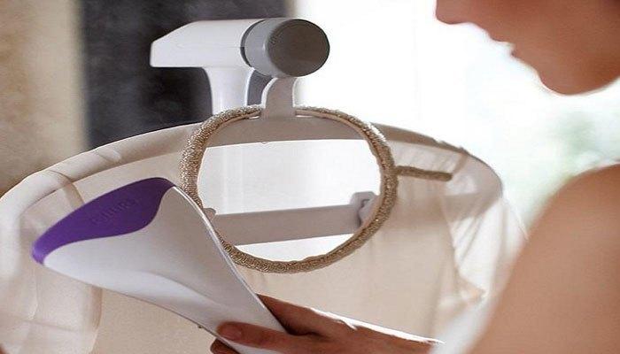Bàn ủi hơi nước đứng tiện lợi có thế dùng được cho các loại vải