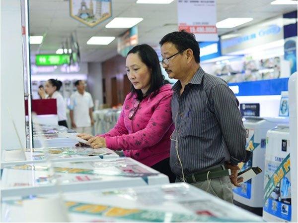 Sản phầm tại Nguyễn Kim có nhiều giá cả, thương hiệu nổi tiếng để người tiêu dùng thoải mái lựa chọn
