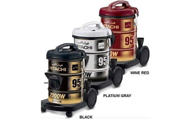 Máy hút bụi Hitachi CV-950Y có cả 3 màu cho bạn dễ dàng chọn lựa