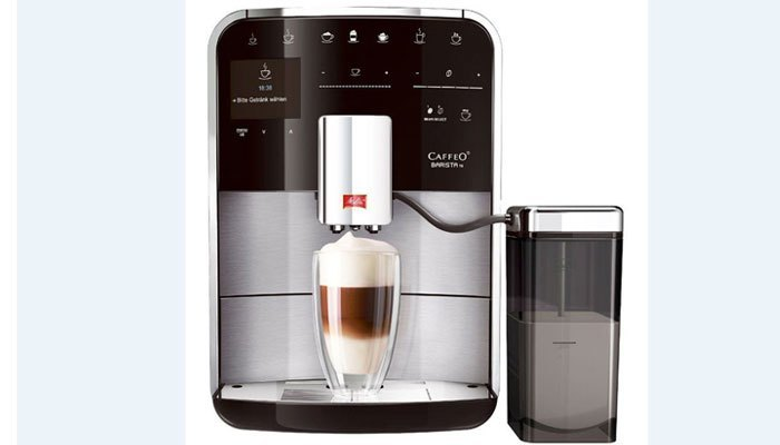 Máy pha cà phê tự động thông dụng và dễ sử dụng