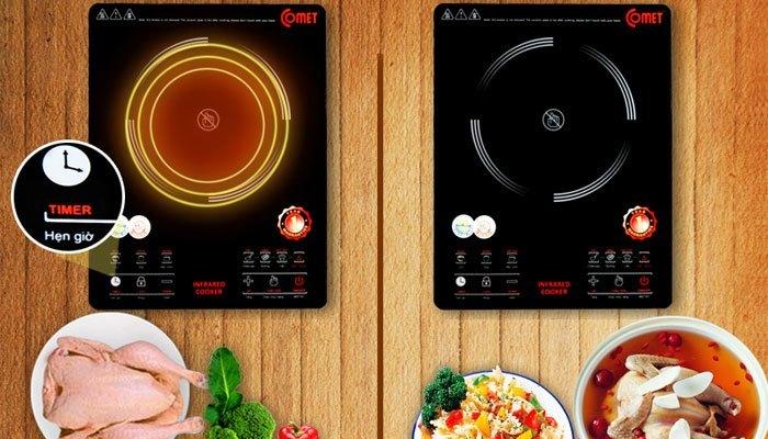 Bạn có thể tha hồ lựa chọn những chức năng mới của bếp điện từ