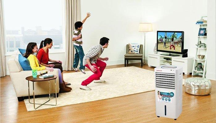 Tắt chế độ phun hơi ẩm của quạt điều hòa khi phòng đã có độ ẩm cần thiết