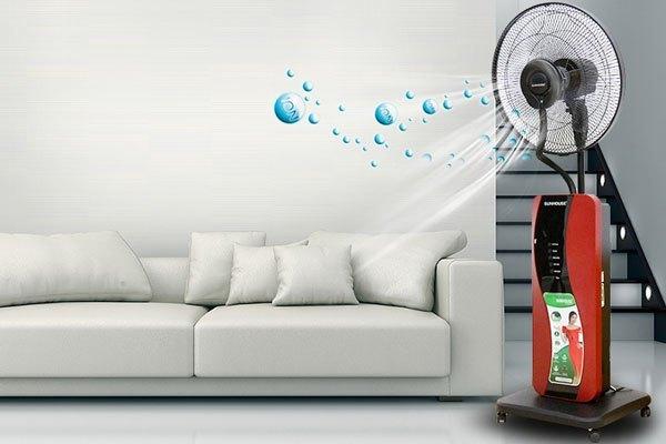 Quạt phun sương Sunhouse SHD7822 giúp lọc sạch không khí nhà bạn