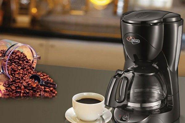 máy pha cà phê Delonghi ICM2.1B được tích hợp khả năng giữ ấm hiệu quả cùng thiết kế sang trọng