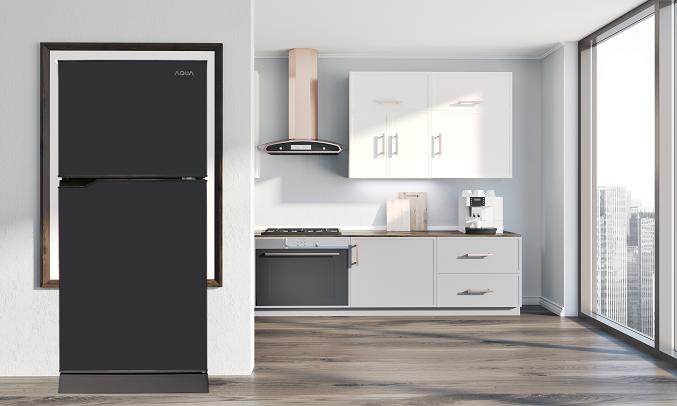 Tủ lạnh Aqua 130 lít AQR-T150FA (BS) - Đèn LED cải tiến, tiết kiệm điện năng