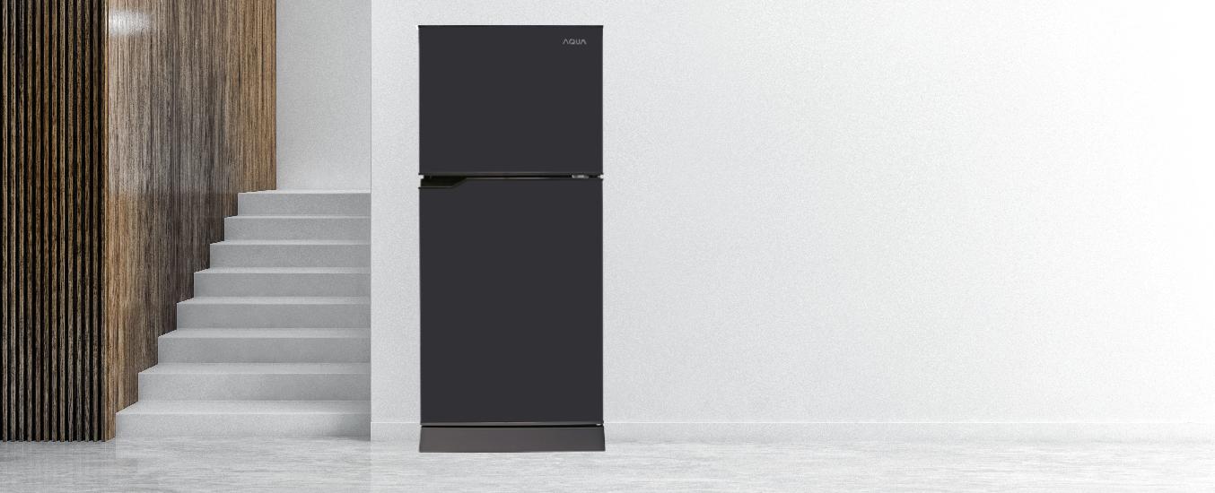 Tủ lạnh Aqua 130 lít AQR-T150FA (BS) - Kiểu dáng truyền thống đơn giản, tinh gọn