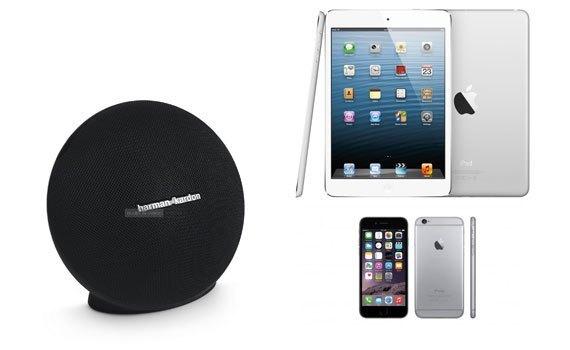 Loa Harman/Kardon Onyx Mini màu đen hỗ trợ kết nối nhiều thiết bị
